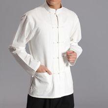13 colortang костюм мужские хлопковые рубашки с длинным рукавом кунг-фу Униформа Wing chun Hanfu лежал медитации Тай Чи боевых искусств одежда