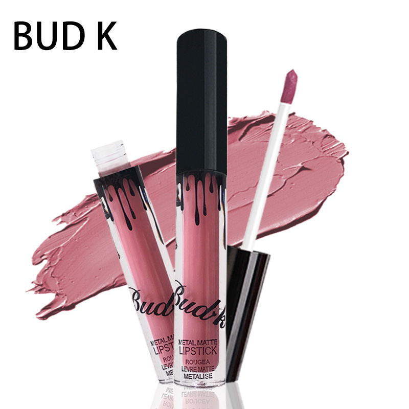 BUD K Brand liquid lipstick glitter Hot Sexy Colors