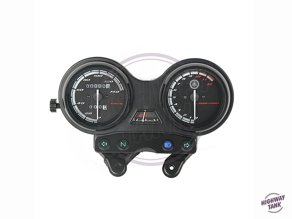 Motorcycle Tachometer Speedometer Meter Gauge Moto Tacho Instrument clock case for YAMAHA YBR 125 2005-2009 Euro II version pair of elegant faux gem triangle drop earrings for women