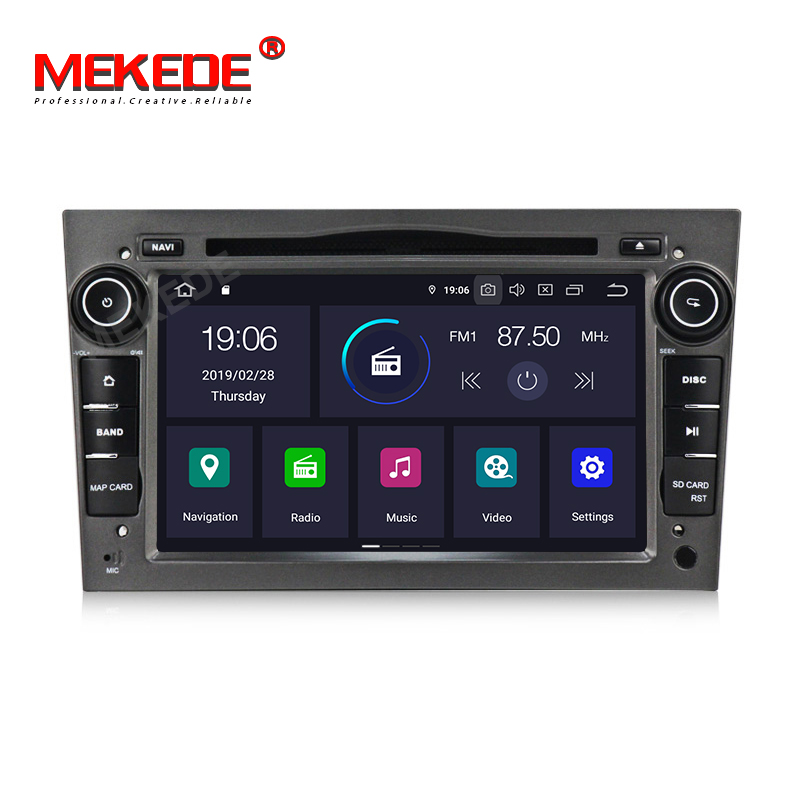Android9.0 2DIN DVD GPS for Vauxhall Opel Astra H G J Vectra Antara Zafira Corsa Multimedia screen car radio stereo audio 4GWIFI