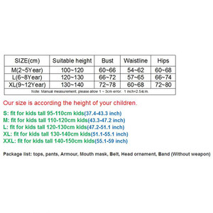 Image 2 - Kids Dragon Ninja Cosplay Costumes Halloween Carnival Party Boys Warrior Stealth Fancy Costumes