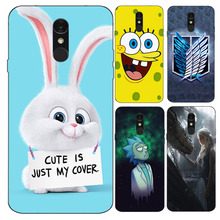 Case for LG Q7 Case Cover Soft Silicone 3d Cute Phone Cover