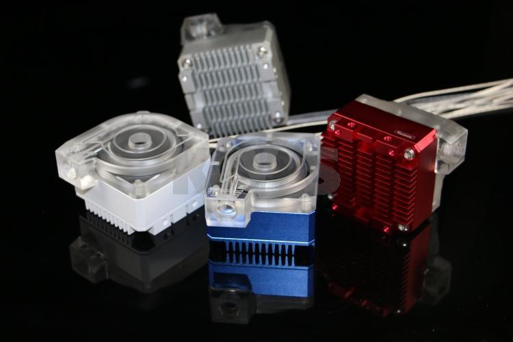 DDC3.1 Pump with ICE Top and Barrow PCB barrow pmma ddc pump integration reservoir mod kit pbtt ytw