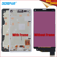 4 3 100 Tested Black White For Sony Xperia Z3 Mini Compact D5803 D5833 LCD Display