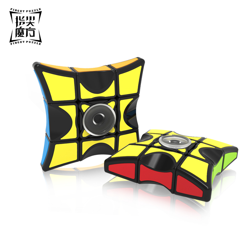 QiYi Mofangge Finger Floppy 1x3x3 Fidget Puzzle Cube Qiyi Spinner Cube Fidget Toys For Children Cubo Magico For Beginner qiyi mofangge the valk 3 power magic cube pvc sticker puzzle cube professional competition magico cubo