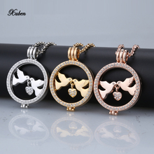 Free shipping New Pendant gold Necklaces Mi Moneda Coins Pendant Necklace for Women Crystal Coin Disc mix Colors include chain
