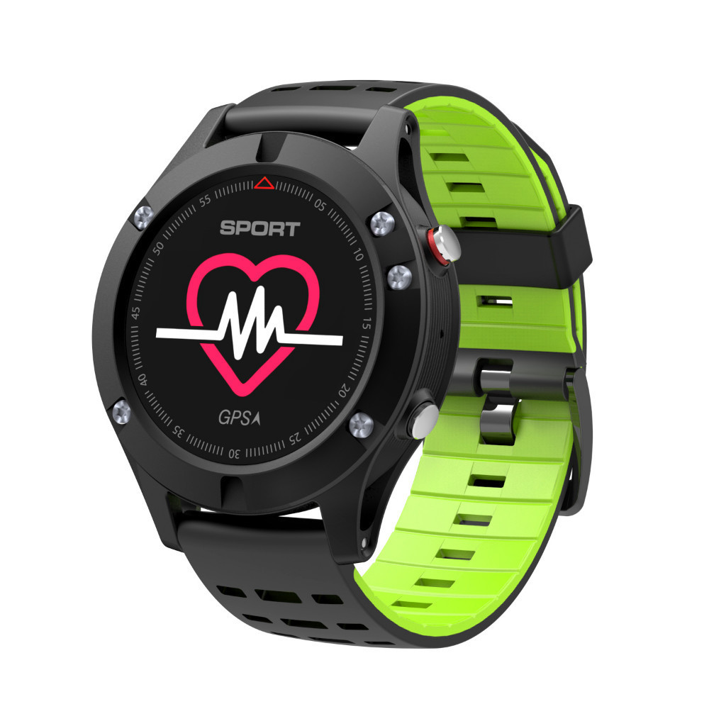 Купить с кэшбэком Smart watches F5 Intelligence Bracelet GPS Location Ride In Good Luck smartwatch Fund Actual Measurement Temperature Altitude