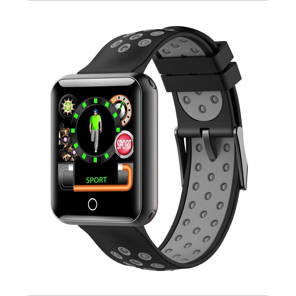 Timethinker Q18 montre intelligente Bluetooth Smartwatch Android IOS montre-bracelet tension artérielle moniteur de fréquence cardiaque IP68 étanche