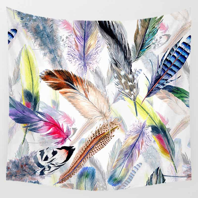 Fashion Mixture styles landscape tapestries wall hanging tapestry home decoration square wall tapestry size 1500mm 1500mm in Tapestry from Home Garden