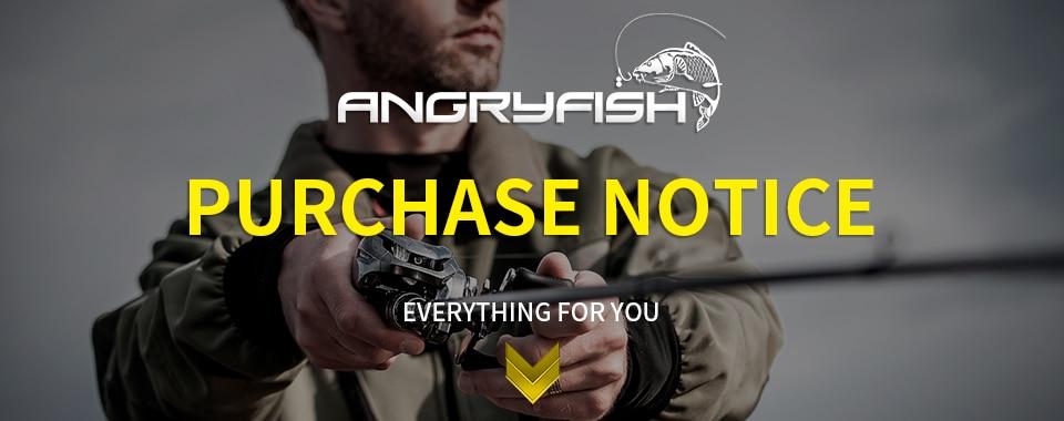 Angryfish voar carretel de pesca 2 +