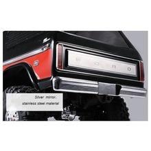 Задний хвост против царапин пластина для DJ TRAXXAS TRX4 TRX 4 ford bronco нержавеющая сталь RC автомобиль багажник тела Защитная панель части