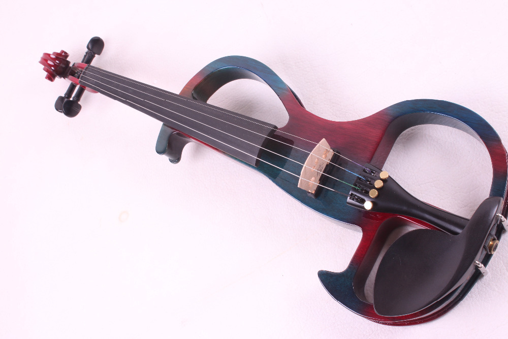 4 string 4/4 Electric Violin WHITE many color #2 the item is the color if you need other color please tell me