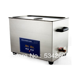 30L Stainless steel Digital Ultrasonic Cleaner with Timer and Heater (including Washing Basket) 22l stainless steel ultrasonic cleaner with timer and heater including washing basket
