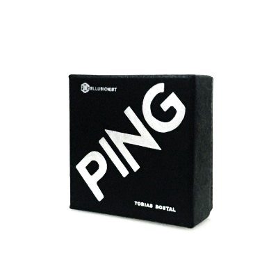 Ping By Tobias Dostal (Gimmick+online Instruct) - Coin Magic Tricks,Mentalism,Stage,Close-Up,Street,Accessories,Illusion,Gimmick
