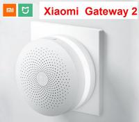 Update Version Original Xiaomi Mijia Smart Home Multifunctional Gateway 2 Alarm System Intelligent Online Radio Night