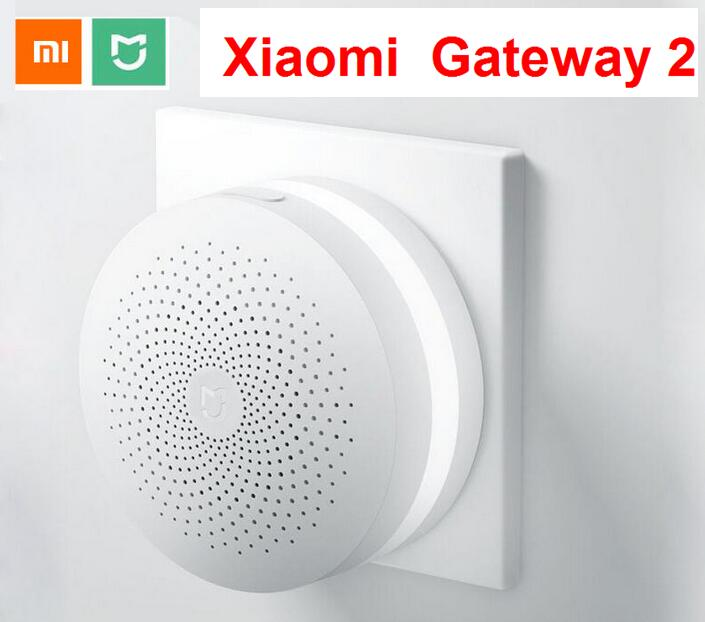 update Xiaomi Mijia Smart Home Multifunctional Gateway 2 Alarm System Intelligent Online Radio Night Light Bell
