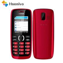 112 Original de Nokia 112 Radio FM desbloqueado original de doble tarjeta sim de Teléfono Móvil de la Buena Calidad un año de garantía Envío gratis