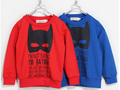 Boys sweatshirts 2 Colors Fashion Active Full Sleeve Children Sweatshirt Boy Hoodies Kids Sweaters moleton infantil 2-8 Age