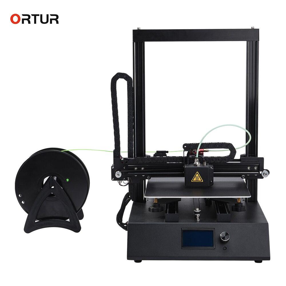 Ortur-4 Stampante 3d di Nuova Generazione Ad Alta Velocità Lineare Binario di Guida Impressora 3D Stampa Velocità Normale 100-150 mm/s 3d drucker