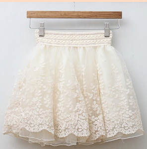 Short Skirt A-Line Above-Knee American-Style Black Woman European Fast 50pcs/Lot Beige