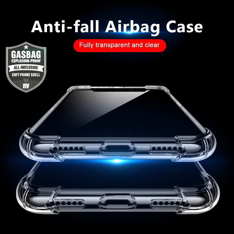 Phone Bags & Cases Cellphones & Telecommunications Frugal 4 Gasbag Drop-proof Soft Case For Iphone Xs Max Xr X 10 7 8 Plus 6 6s Clear Tpu Silicone Candy Anti Knock Phone Cover