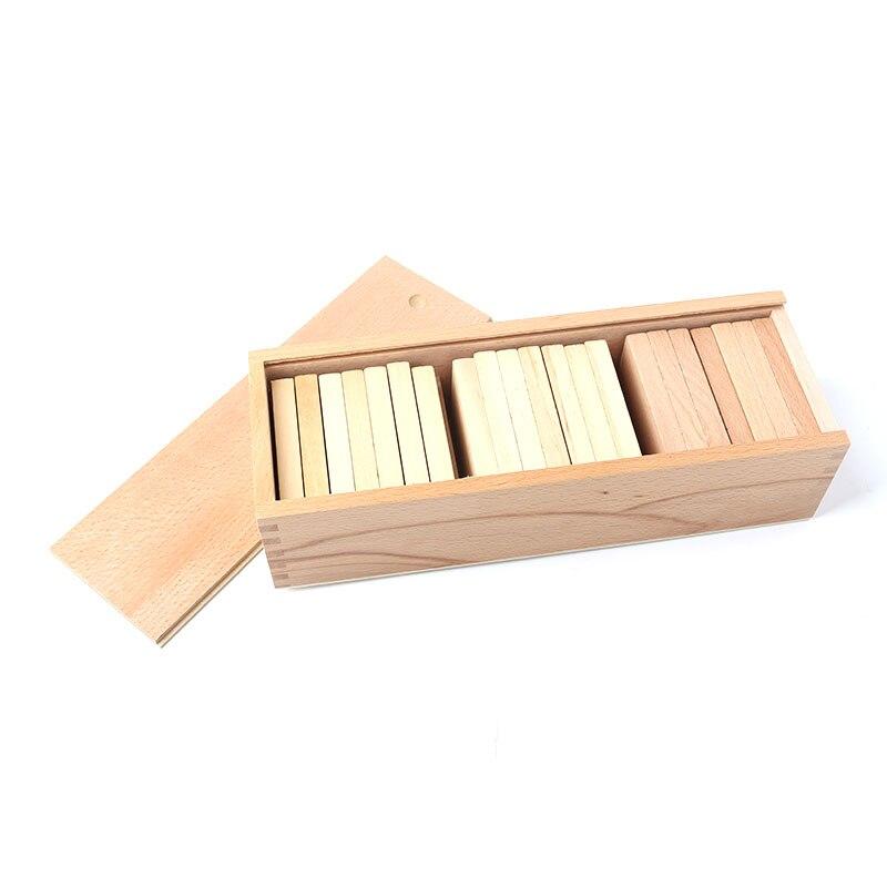 Jouets éducatifs en bois Montessori tablettes Baric panneau de poids jouets éducatifs pour enfants Juguetes Brinquedos YG1964H
