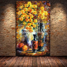 Oil Painting Canvas 100% Hand-painted Modern Palette Knife Flower Oil Painting Wall Paintings on the Wall Picture Canvas Artwork