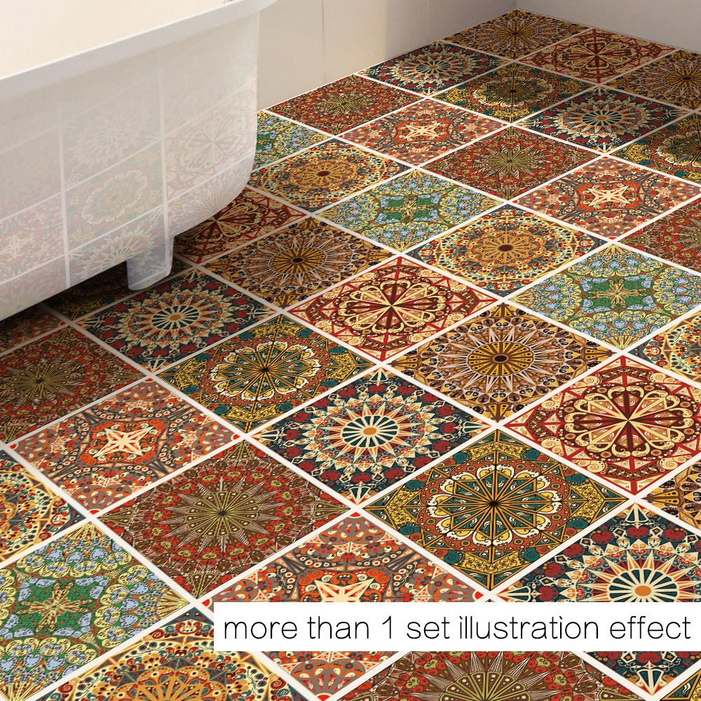 Funlife diy arab decor floor stickers geometry wall sticker funlife diy arab decor floor stickers geometry wall sticker removable floor sticker art decal home room bathroom db039 in wall stickers from home garden dailygadgetfo Image collections