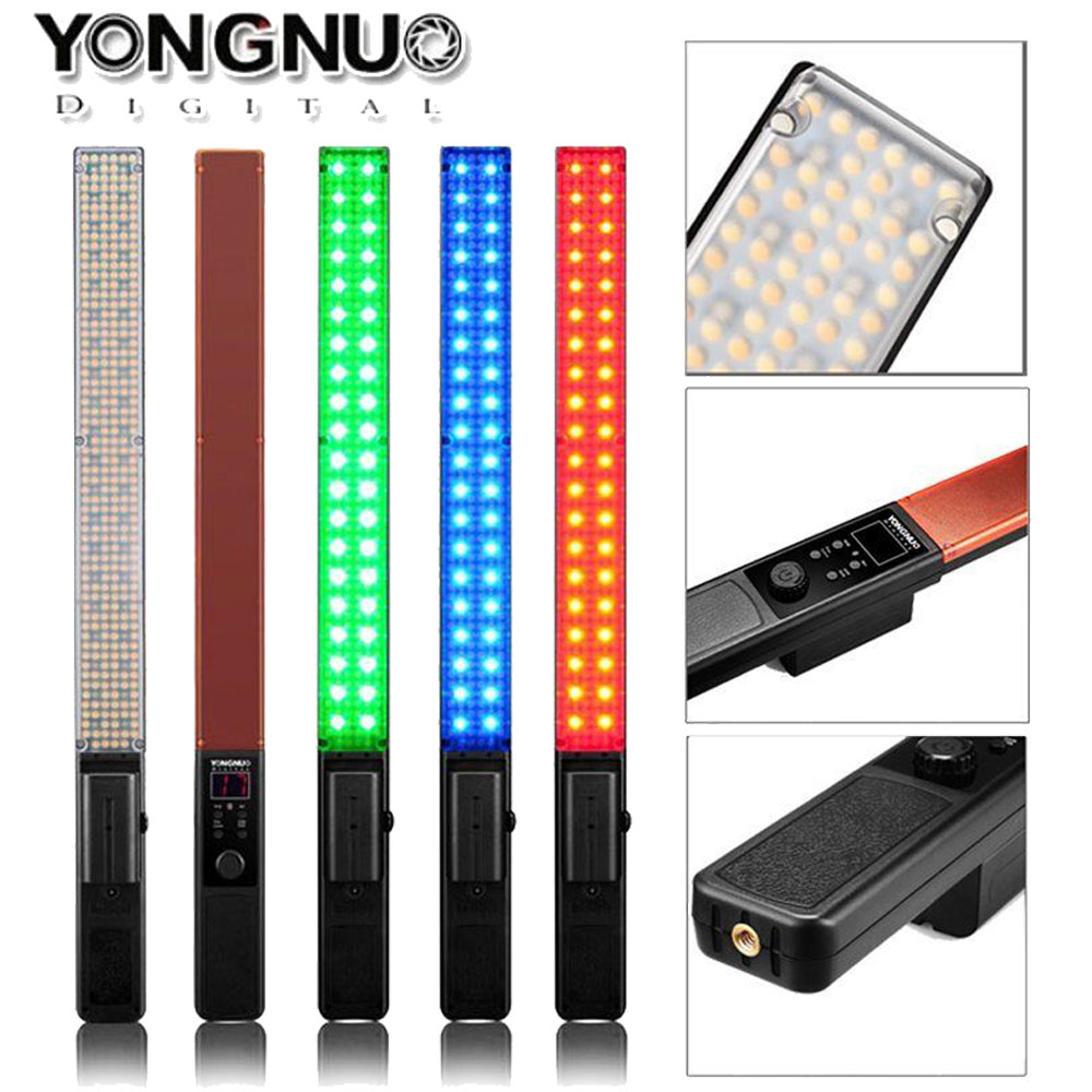 YONGNUO YN360 Pro LED Video Light RGB Full Color CRI95 Max 2560LM for Studio Outdoor Photography