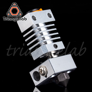 Image 5 - Trianglelab Swiss CR10 hotend Precision aluminum radiator Titanium BREAK 3D print J head Hotend for ender3 cr10 etc.