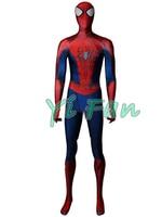 The Amazing Spiderman 2 Cosplay Costume 3D Print Spandex Spiderman Superhero Zentai Suit for Halloween Custom Made Hot Sale