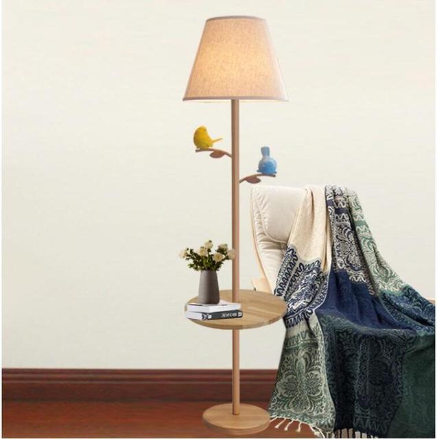 Kostenloser Versand Neu Nordic Vogel Tisch stehlampe lampe ...