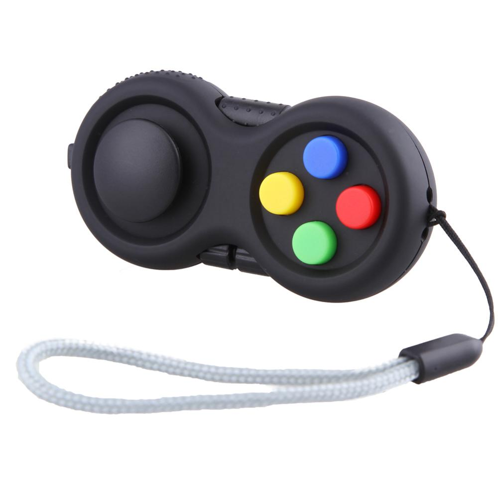Game Handle Toys Plastic Reliever Stress 2017 New Hand Pad Intellectual Puzzle Vent Decompression Gift B0624