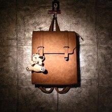 Неделю семь горячие продаж Корейской опрятный ветер восстановление древних путей рюкзак студенты ПУ кожаные сумки женщины путешествия рюкзак