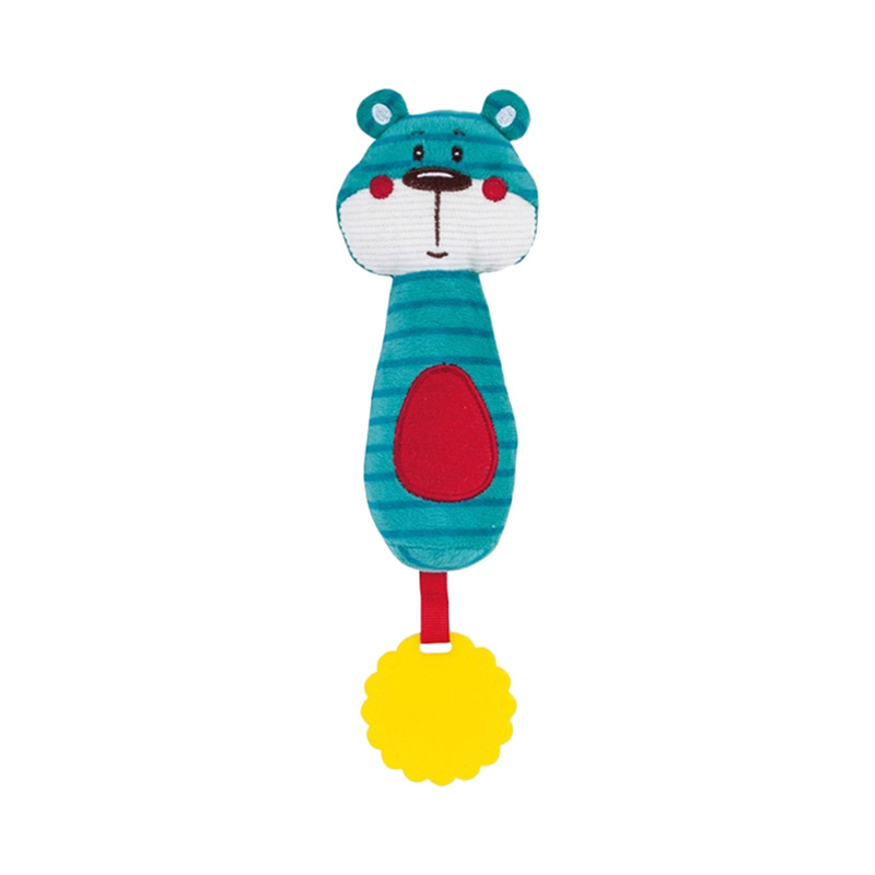 "Мягкая игрушка-пищалкa Canpol ""Forest Friends"", форма: медвежонок"
