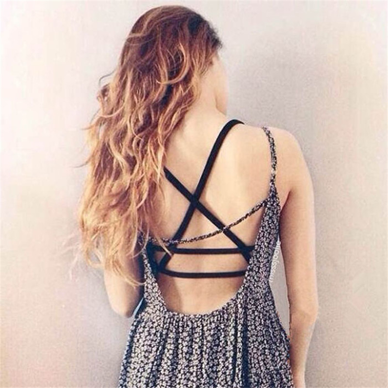 2015 Hot Sale New Fashion Sexy Women Padded Bra Tank Tops Caged Bra Vest Crop Tops Summer Blousedrop shopping