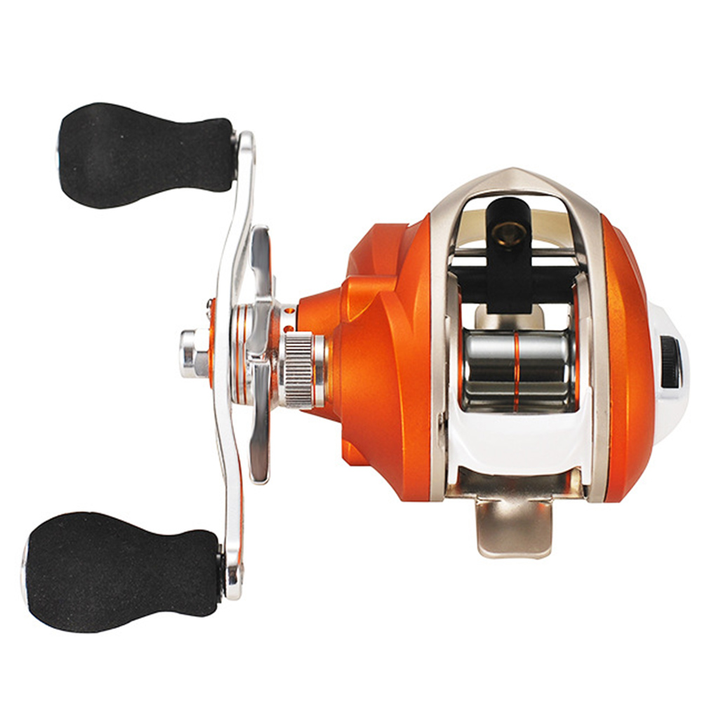 Best Baitcasting Reel 7.2:1 6+1BB Stainless steel bearing fishing wheel Fishing Reel 9KG Max Drag Left Right Hand fishing Reel(China)