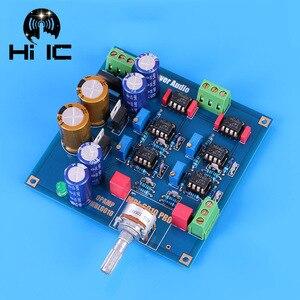 Image 2 - Ссылка MBL6010D Pre усилитель предусилитель Board NE5534 Diy Kits/готовый продукт