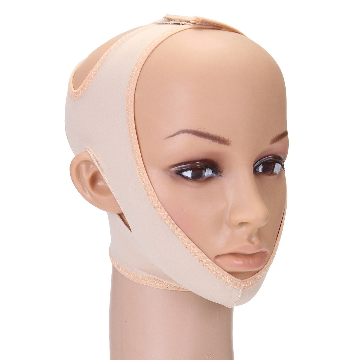 Angkat Dagu Pipi Tipis Anti Kerut Tali Masker Wajah V Line Band Tirus Bioaqua Shaped Penirus Pembentuk Pelangsing Perban Relaksasi Mengangkat Sabuk Mengurangi Ganda Chin