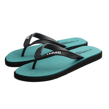 Big size fretwork casual flip flops men drag crust non-slip comfortable beach male slippers outdoor clip feet cool slippers 1