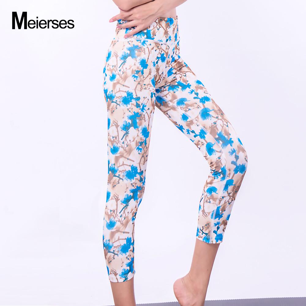1ffa553d084 Sports Wear for Women Elasticity High Weight 3 4 Length Leggings ...