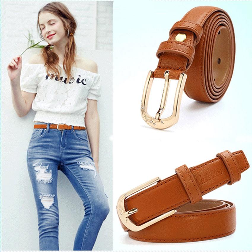 CATELLES Leather Belts For Women Designer Female Fashion Belt High Quality Woman Cinturones Mujer Metal Buckle Ceinture Femme (6)