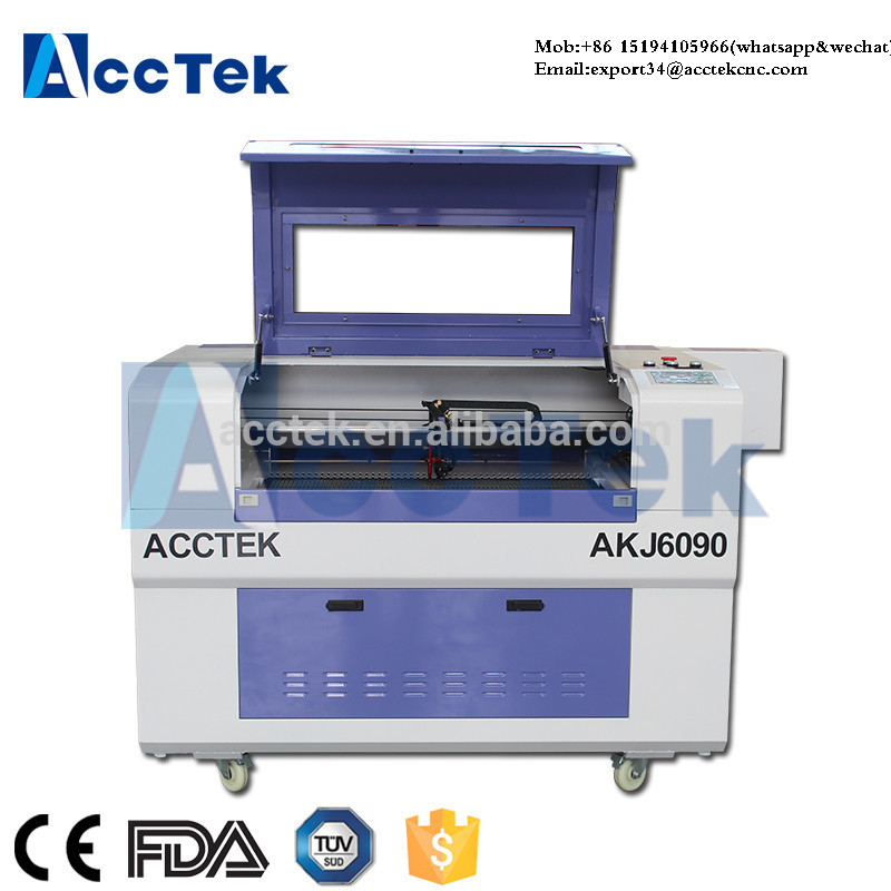 AJ6090 Laser Cutter Co2 Graveur Laser Co2 Laser Machine With High Quality