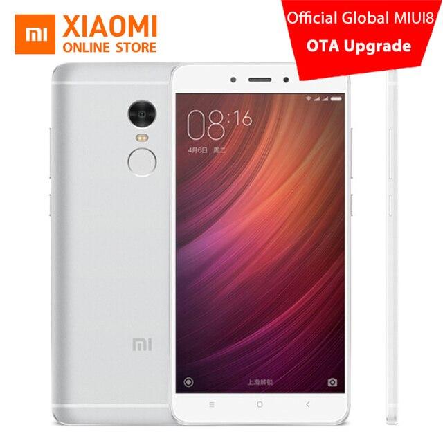 Оригинальный Xiaomi Redmi Note 4 Pro специальный Edtion td мобильный телефон 3 ГБ Оперативная память 64 ГБ Встроенная память MTK helio X20 дека Core 5.5-дюймовый 1080 P 13.0mp