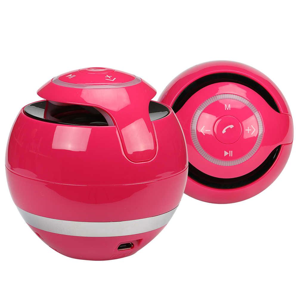 Haut-parleur Bluetooth sans fil Portable haut-parleur basse Mini boîte de son Caixa DeSom récepteur Bluetooth avec Radio FM LED carte TF