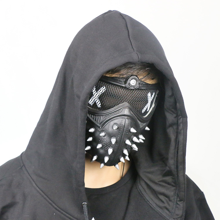 Image 5 - Watch Dogs 2 Cosplay Jacket Wrench I am Dedsec Shawn Baichoo Vest Mask Hot Game Original Costume Halloween Uniform Outfit-in Game Costumes from Novelty & Special Use