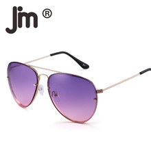 JM Classic Sunglasses Gradient Tinted Oceanic Lens Sun Glasses Metal Alloy Frame Shades Men Women