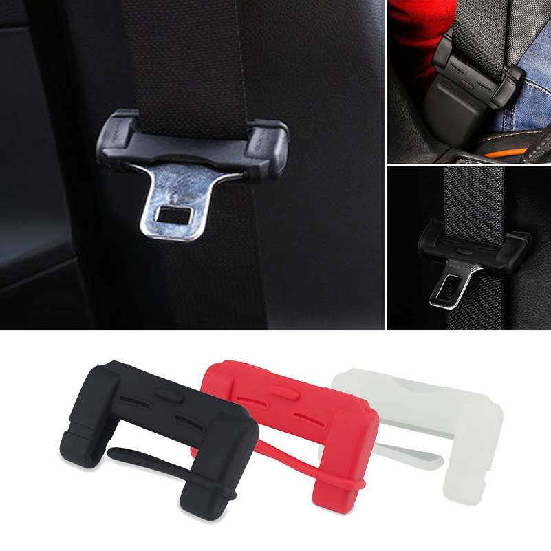 Car Seat Belt Buckle Cover For Nissan Qashqai J11 T32 Juke X-trail Tiida Almera Note Dodge Ram Journey Charger Challenger carava yuzhe 2 front seats auto automobiles car seat cover for nissan qashqai note murano march teana tiida x trail car accessories