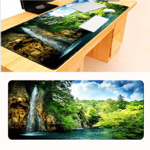 Mairuige Large Gaming Mouse Pads for Mountain Water Scenery Big Best Comfort Game Mouse Pad Mat Soft Silicone Optical Computer