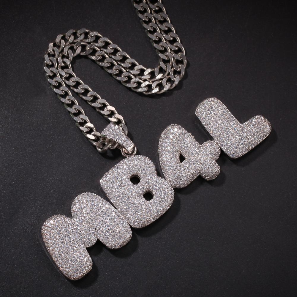 Custom Bubble Letter Chain - Bubble
